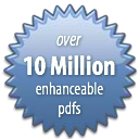 Over 10 Million Enhanceable PDFs